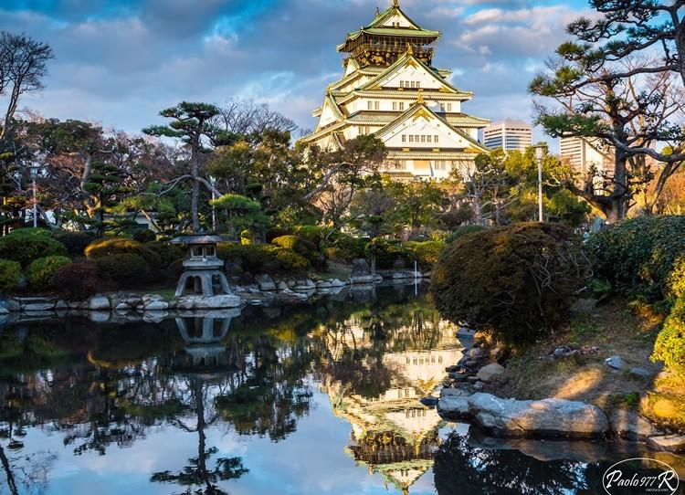 Wandering around Osaka